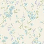 Fiore Wallpaper FO 3404 or FO3404 By Grandeco For Galerie
